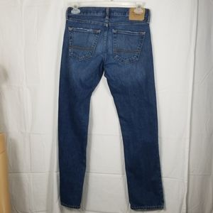 Abercrombie and Fitch slim straight leg button fly